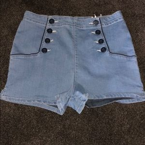 Urban Outfitters Jean Shorts High Waisted